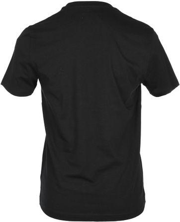 Detail Original Penguin T-shirt Zwart