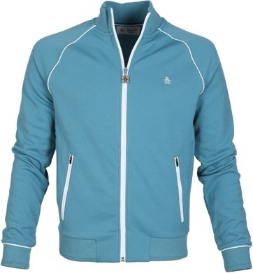 Original Penguin Track Jacket Blue