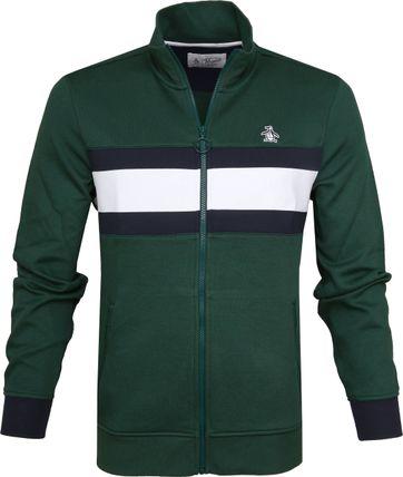 Original Penguin Track Jacket Groen