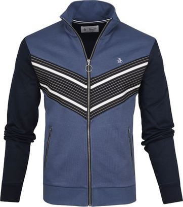 Original Penguin Zipper Retro Blue