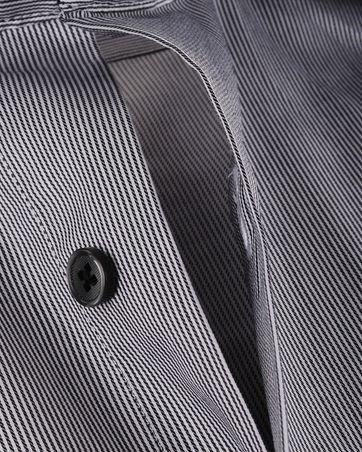 Detail Overhemd Zwarte Streep 97-6