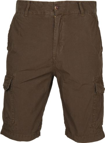 Petrol Cargo Short Brown