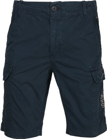 Petrol Cargo Short Dark Blue