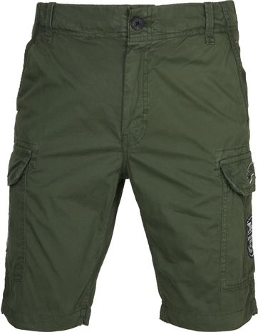 Petrol Cargo Short Dark Green