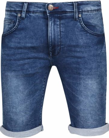 Petrol Jackson Short Denim Blau