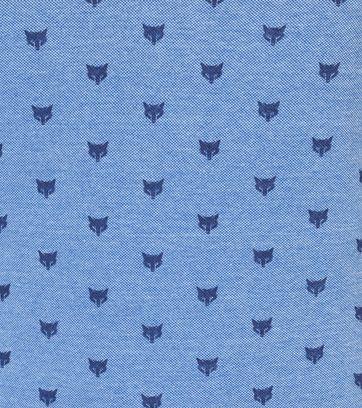 Petrol Polo Fox Blauw