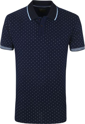 Petrol Polo M-1010 Donkerblauw