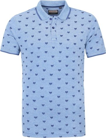 Petrol Polo Shirt Fox Blue