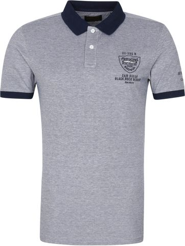 Petrol Polo Shirt Logo Navy