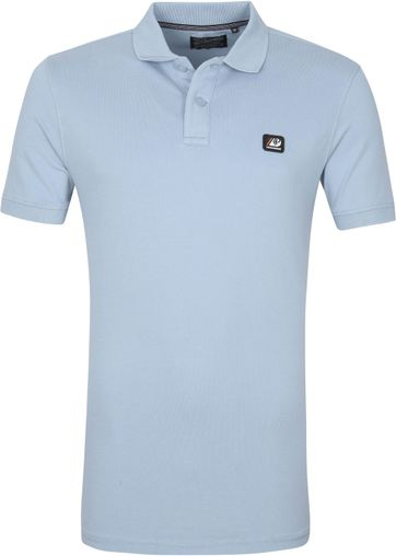 Petrol Polo Shirt Parrot Blue