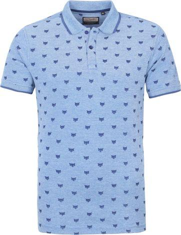 Petrol Poloshirt Fox Blau