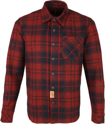 Petrol Shirt Checked Red