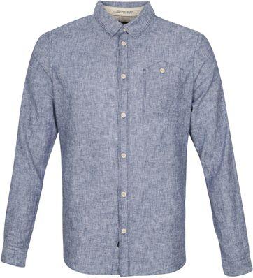 Petrol Shirt Indigo Blau