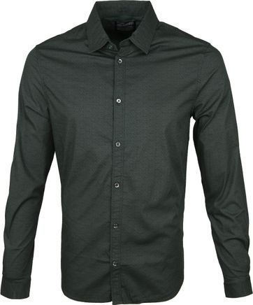 Petrol Shirt Oval Dark Green