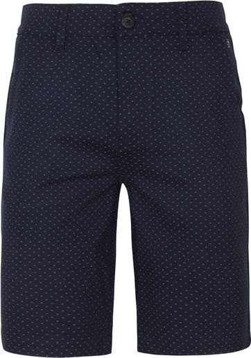 Petrol Shorts Miniprint Navy