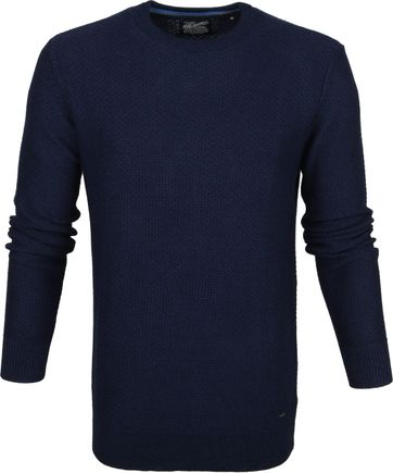 Petrol Sweater Deep Capri Dark Blue