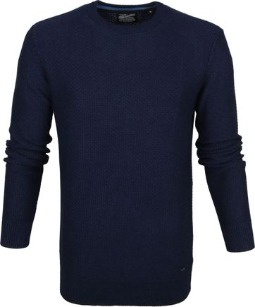 Petrol Sweater Deep Capri Dunkelblau