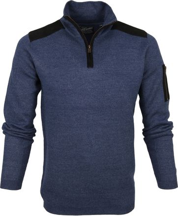 Petrol Sweater Deep Capri Navy
