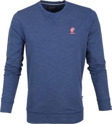 Petrol Sweater Donkerblauw