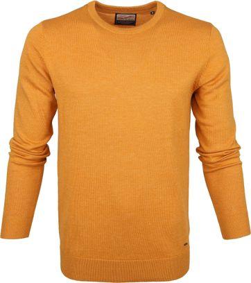 Petrol Sweater Gestrickt Gelb