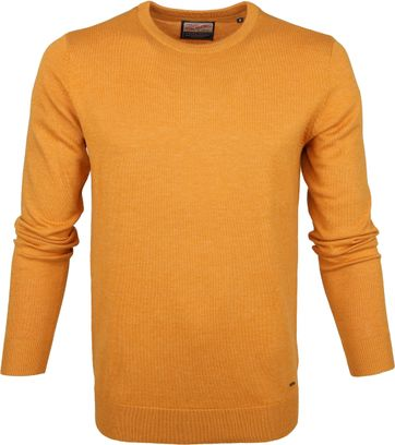 Petrol Sweater Knitted Yellow