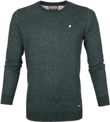 Petrol Sweater Knitwear Dark Green