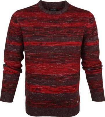 Petrol Sweater Multicolour Red