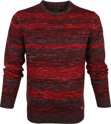 Petrol Sweater Multicolour Rot