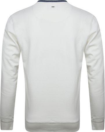 Petrol Sweater Weiß