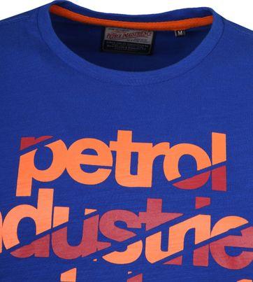 Petrol T-shirt Blauw