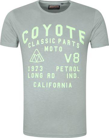 Petrol T-Shirt Coyoe Groen