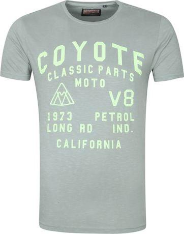 Petrol T Shirt Coyoe Grun