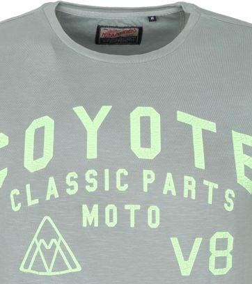 Petrol T-Shirt Coyote Groen