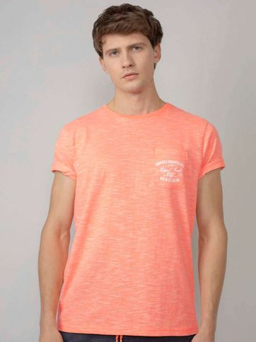 Petrol T Shirt Orange