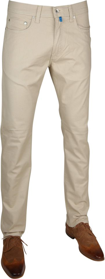 Pierre Cardin Broek Future Flex Khaki