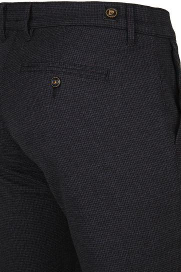 Pierre Cardin Lyon Pants Check Brown