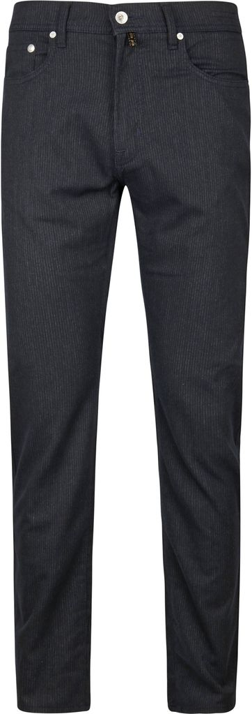 Pierre Cardin Lyon Pants Stripes Navy