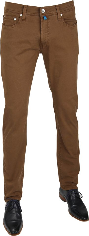 Pierre Cardin Pants Future Flex Brown