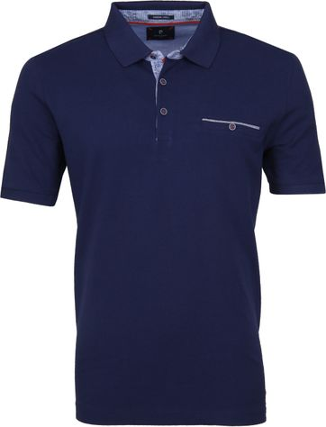 Pierre Cardin Polo Airtouch Blauw