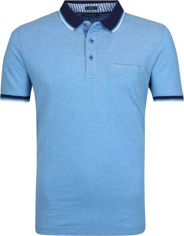 Pierre Cardin Polo Blauw Airtouch