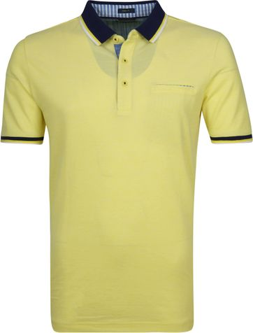 Pierre Cardin Polo Shirt Yellow Airtouch