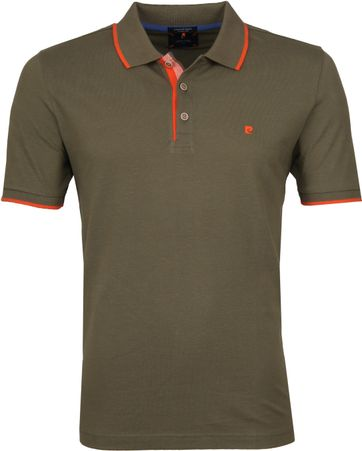 Pierre Cardin Poloshirt Adverture Green