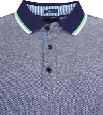 Pierre Cardin Poloshirt Airtouch Delta Blau