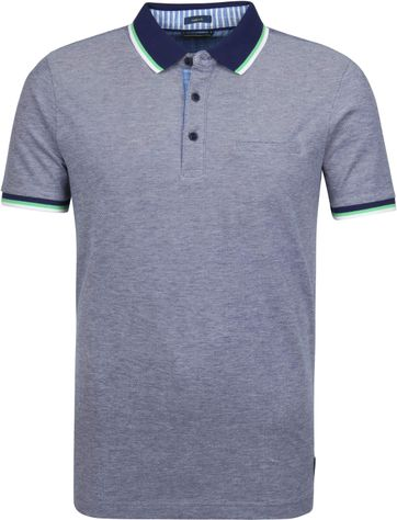 Pierre Cardin Poloshirt Airtouch Delta Blue