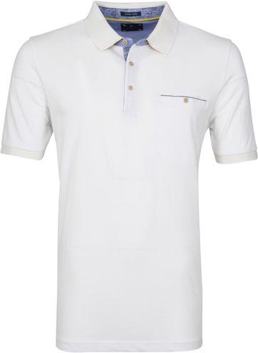 Pierre Cardin Poloshirt Airtouch White
