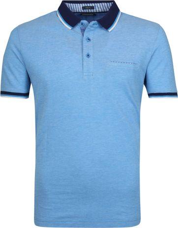 Pierre Cardin Poloshirt Blau Airtouch