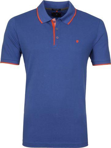Pierre Cardin Poloshirt Brazil Blue