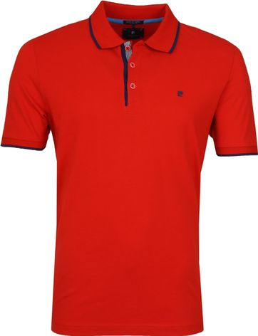 Pierre Cardin Poloshirt Flame Red