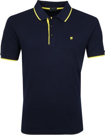 Pierre Cardin Poloshirt Navy Airtouch