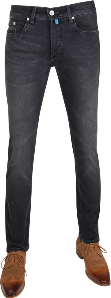 Pierre Cardin Trousers Lyon Flex Dark Grey